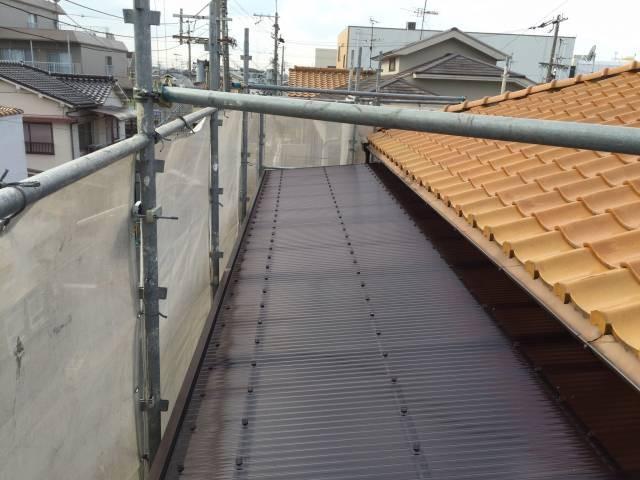 大阪府八尾市 K様邸 外壁塗装・付帯部・防水工事・波板張替 (5)
