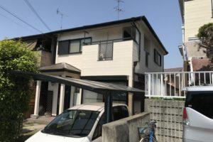 奈良県北葛城郡 S様邸 外壁塗装・屋根塗装・付帯部塗装・防水工事 (1)