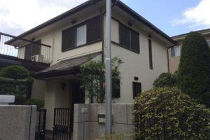 大阪府堺市 H様邸 外壁塗装・屋根塗装・付帯部塗装 (1)