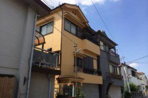 大阪府八尾市 M様邸 外壁塗装・付帯部塗装 (1)