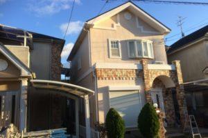 奈良県大和郡山市 Ⅰ様邸 外壁塗装・屋根塗装・付帯部塗装 (1)