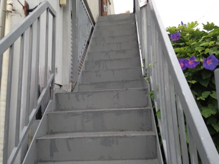 大阪府八尾市 O様邸 外壁塗装・屋根塗装・鉄骨階段補修 (4)