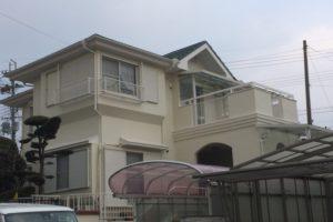 大阪府堺市 K様邸 外壁塗装・屋根塗装・付帯部塗装 (1)