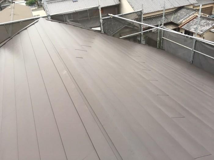 大阪府八尾市 K様邸 外壁塗装・屋根カバー工法・付帯部塗装 (4)
