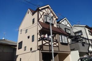 大阪府藤井寺市 K様邸 外壁塗装・屋根塗装・付帯部塗装 (1)