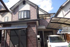 大阪府羽曳野市 Ⅰ様邸 外壁塗装・屋根塗装 (2)