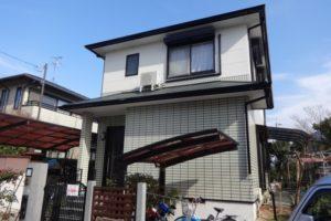奈良県北葛城郡 W様邸 外壁塗装・屋根塗装 (1)