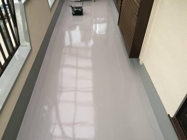 大阪府八尾市 K様邸 外壁塗装・付帯部・防水工事・波板張替 (4)