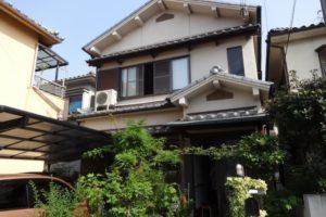 大阪府堺市 F様邸 外壁塗装 (2)