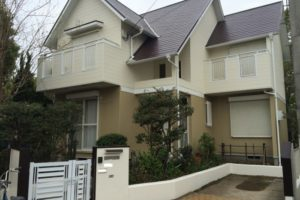 大阪府和泉市 S様邸 外壁塗装・屋根塗装・付帯部塗装 (1)