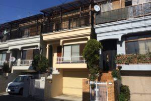 大阪府東大阪市 M様邸 外壁塗装・屋根漆喰補強 (1)