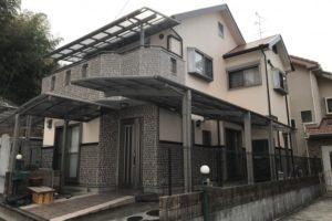 大阪府八尾市 H様邸 外壁塗装・屋根塗装・付帯部塗装 (1)