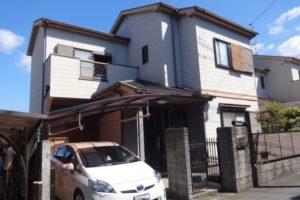 大阪府富田林市 O様邸 外壁塗装・屋根塗装・付帯部塗装 (2)