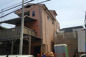 大阪市東住吉区 S様邸 外壁塗装・屋根塗装 (2)
