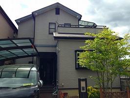 大阪府和泉市 H様邸 外壁塗装・屋根塗装 (2)