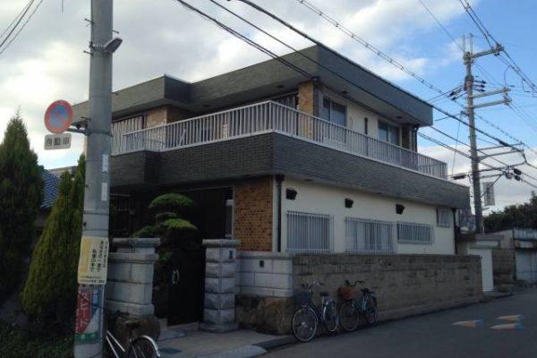 大阪府八尾市 H様邸 外壁塗装・付帯部塗装 (1)