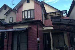 大阪府羽曳野市 Ⅰ様邸 外壁塗装・屋根塗装 (1)