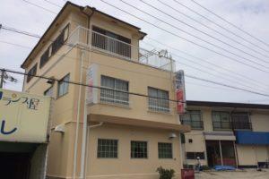 大阪府岸和田市 I様 喫茶店舗・貸店舗棟 外壁塗装・屋根塗装 (1)
