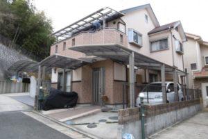大阪府八尾市 H様邸 外壁塗装・屋根塗装・付帯部塗装 (2)