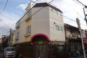 大阪市城東区 Dマンション 外壁塗装・付帯部塗装 (2)