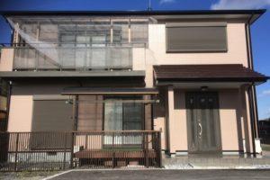 大阪府貝塚市 Y様邸 外壁塗装・屋根塗装・基礎塗装・付帯部塗装 (1)