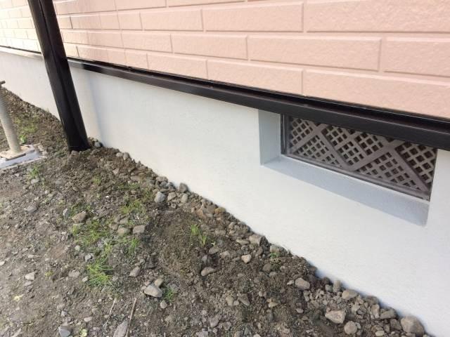 大阪府貝塚市 Y様邸 外壁塗装・屋根塗装・基礎塗装・付帯部塗装 (5)