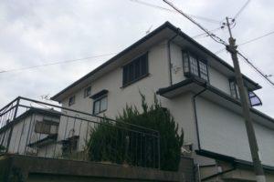 大阪府寝屋川市 K様邸 外壁塗装・屋根塗装・付帯部塗装 (1)