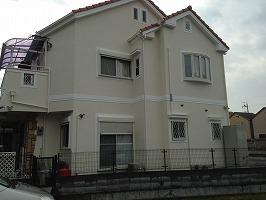 大阪府八尾市 H様邸 外壁塗装 (1)