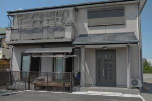 大阪府貝塚市 Y様邸 外壁塗装・屋根塗装・基礎塗装・付帯部塗装 (2)