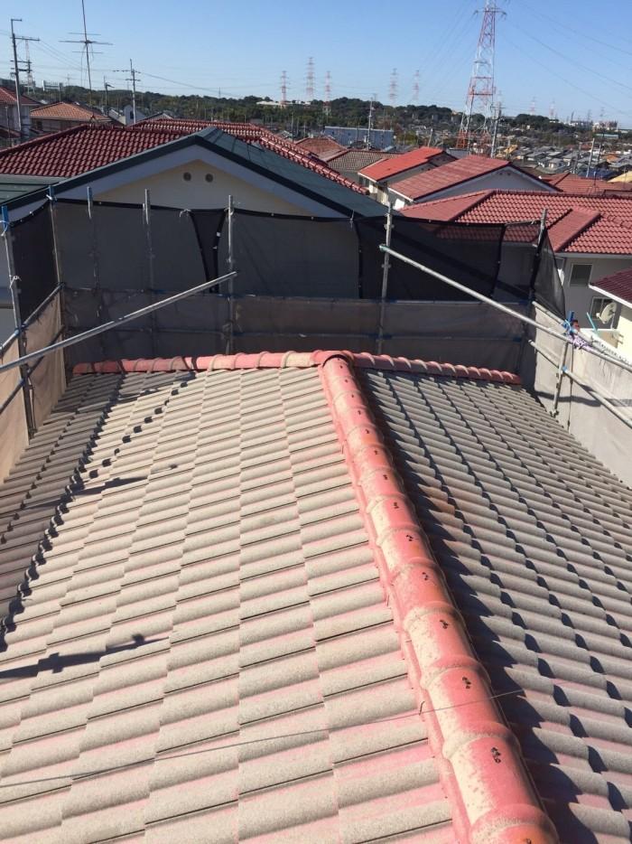 大阪府堺市 T様邸 外壁塗装・屋根塗装・付帯部塗装・雨樋新設 (3)