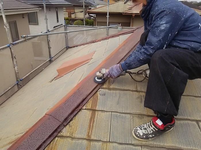 大阪府堺市 H様邸 外壁塗装・屋根塗装・付帯部塗装 (4)