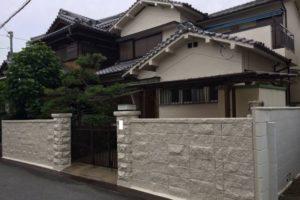 大阪府八尾市 S様邸 外壁塗装・付帯部塗装 (1)