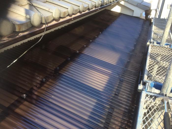 大阪市東住吉区 S様邸 外壁塗装・付帯部塗装・防水工事 (5)