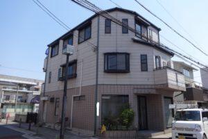 大阪市平野区 E様邸 外壁塗装・屋根塗装 (2)