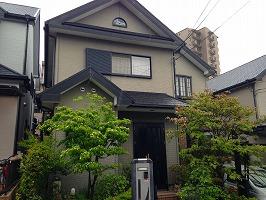 大阪府堺市北区 K様邸 外壁塗装・屋根塗装 (2)