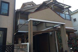 大阪府八尾市 H様邸 外壁塗装・屋根塗装 (2)