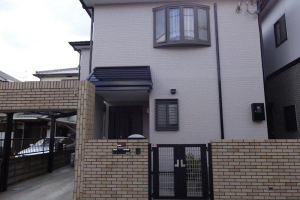 大阪府松原市 Y様邸 外壁塗装・屋根塗装・付帯部塗装 (1)