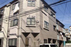 大阪市住吉区 Ⅰ様邸 外壁塗装・屋根塗装 (2)