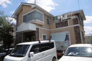 大阪府堺市 Y様邸 外壁塗装・屋根塗装・付帯部塗装 (2)