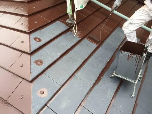 大阪府貝塚市 Y様邸 外壁塗装・屋根塗装・基礎塗装・付帯部塗装 (3)