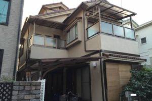 大阪府八尾市 H様邸 外壁塗装・屋根塗装 (1)
