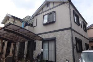 大阪府堺市 N様邸 外壁塗装・屋根塗装・付帯部塗装 (2)