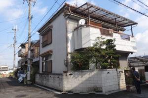 大阪府八尾市 K様邸 外壁塗装・付帯部・防水工事・波板張替 (2)