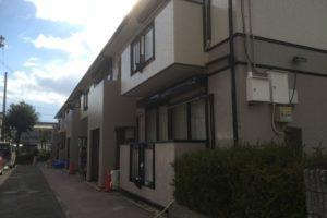 大阪府柏原市 N様ハイツ 外壁塗装・屋根塗装 (1)