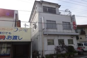 大阪府岸和田市 I様 喫茶店舗・貸店舗棟 外壁塗装・屋根塗装 (2)