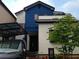 大阪府和泉市 H様邸 外壁塗装・屋根塗装 (1)