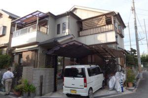 大阪府富田林市 Ⅰ 様邸 外壁塗装・屋根塗装 (2)