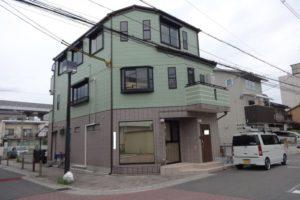大阪市平野区 E様邸 外壁塗装・屋根塗装 (1)