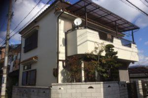 大阪府八尾市 K様邸 外壁塗装・付帯部・防水工事・波板張替 (1)