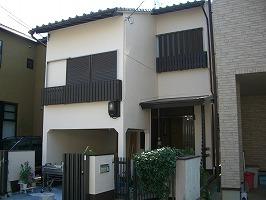 大阪府堺市 N様邸 外壁塗装 (1)